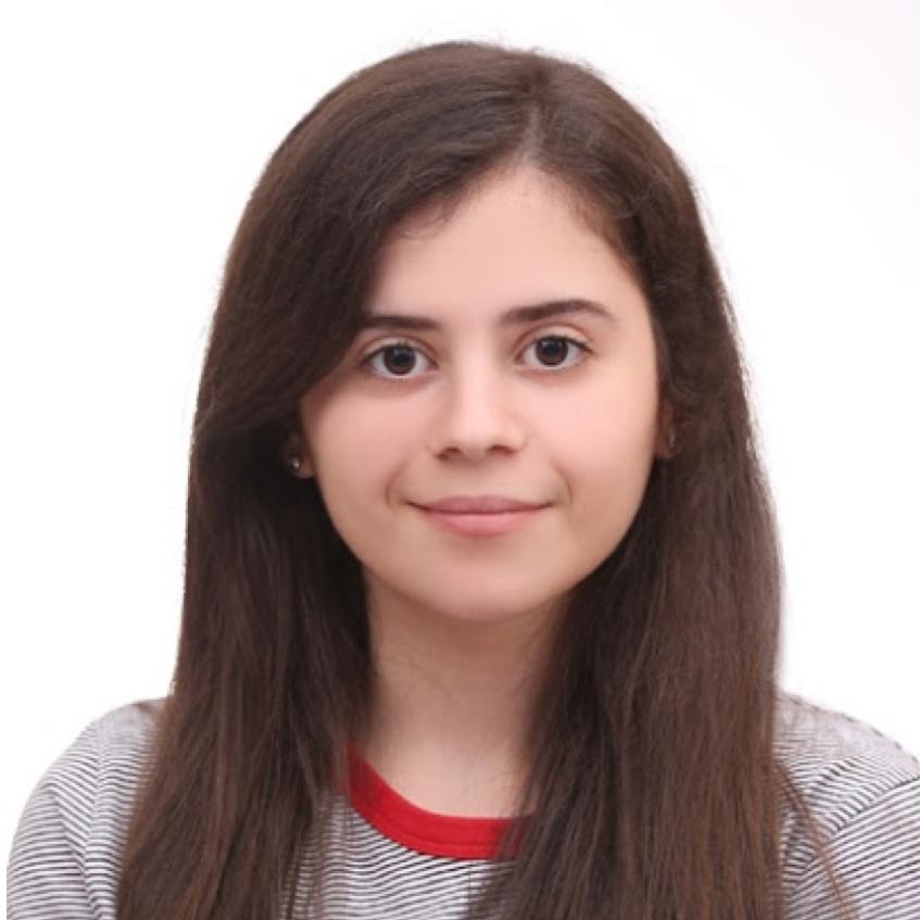 Martina Gjyzari, BS candidate